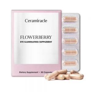 Ceramìracle FLOWERBERRY Eye Illuminating Supplement