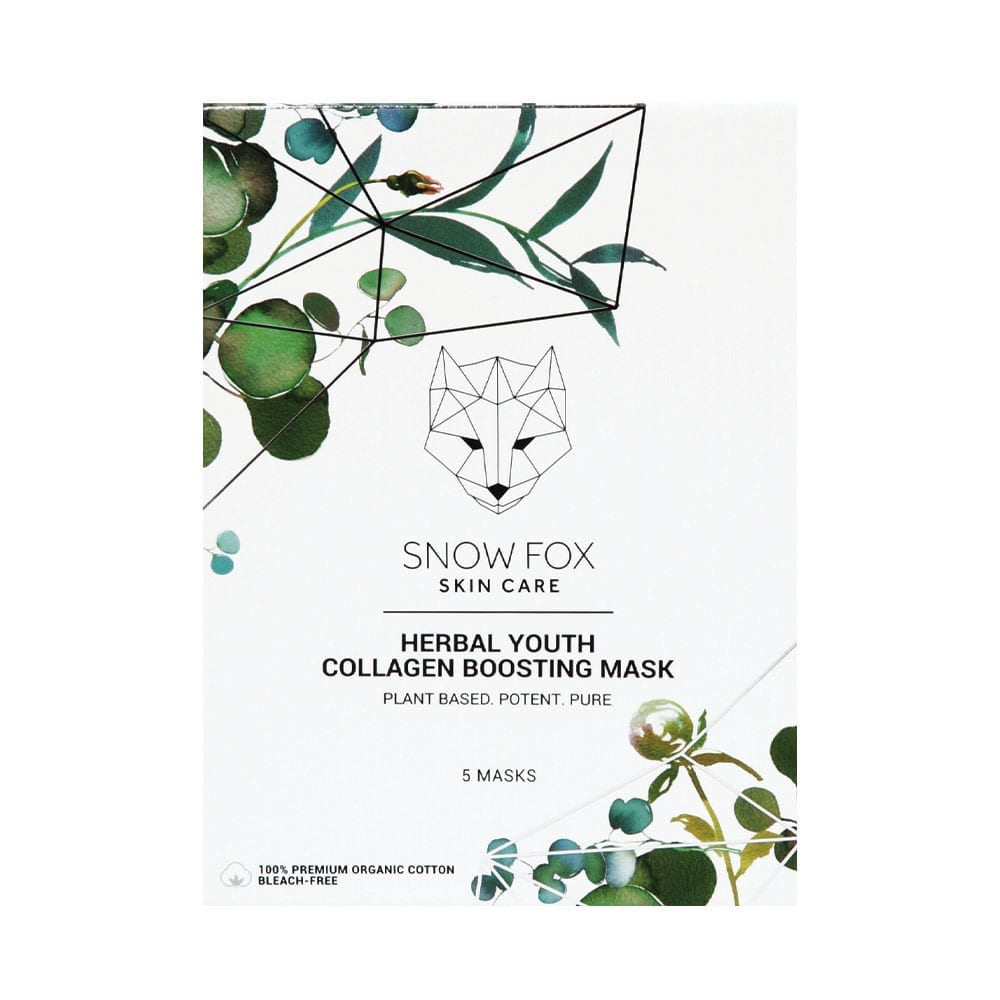 SNOW FOX Herbal Youth Collagen Boosting Mask