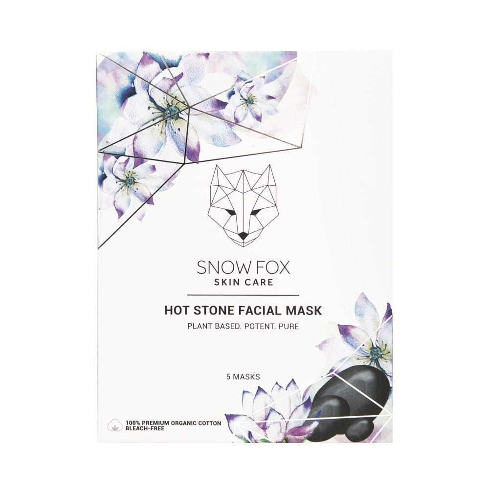 SNOW FOX Hot Stone Facial Mask