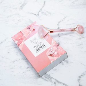 SNOW FOX Rose Quartz Facial Roller