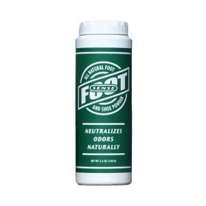 FOOT SENSE All Natural Foot and Shoe Powder