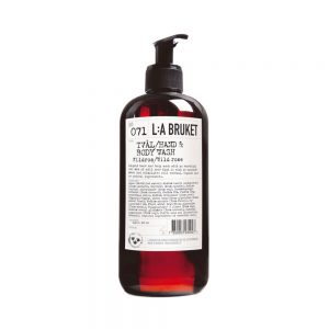 L:A BRUKET Wild Rose Hand & Body Wash